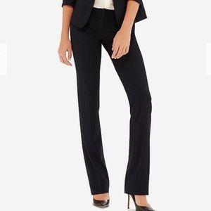 The Limited Drew Fit Long Black Wide Leg Pants